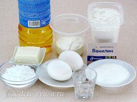 Хворост на сметане: Ингредиенты