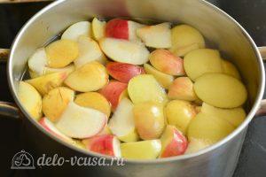 Компот из яблок на зиму: Варить компот