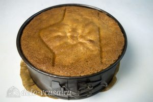 Маковый бисквит: Остудить в духовке