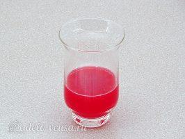Морс из брусники: Отжать сок