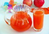 Напиток из яблок и моркови