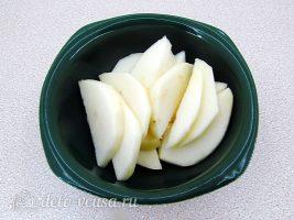Напиток из яблок и моркови: Измельчить яблоки
