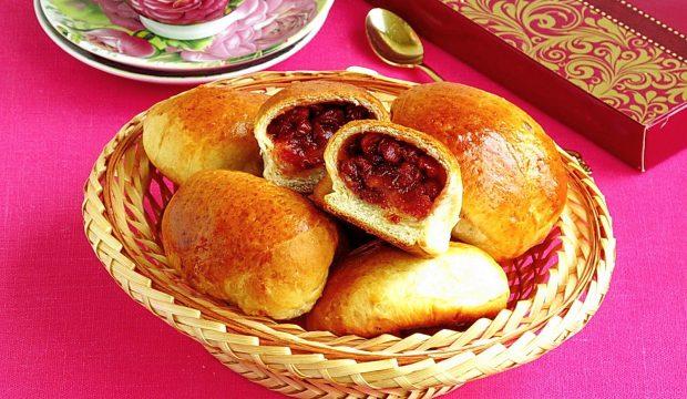 Пирожки из калины в духовке, рецепт с фото
