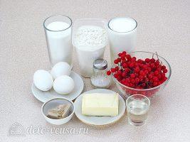 Пирожки с калиной: Ингредиенты