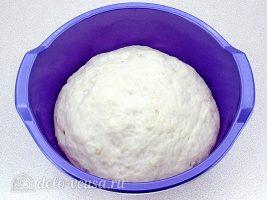 Пирожки с калиной:Оставить тесто подходить