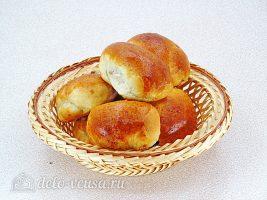 Пирожки с калиной готовы