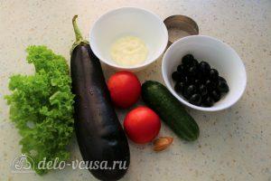 Закуска Павлиний хвост: Ингредиенты