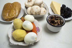 Закусочный торт с курицей: Ингредиенты