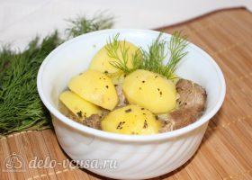 Тушеная баранина с картофелем
