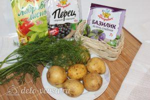 Тушеная баранина с картофелем: Ингредиенты