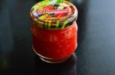 Хреновина из помидоров на зиму без варки