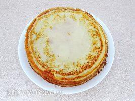 Блинчики Креп Сюзетт с апельсиновым соусом: Положить блины в духовку