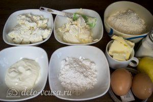 Чизкейк с маскарпоне и творогом: Ингредиенты