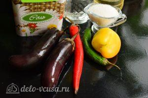 Острые баклажаны по-грузински на зиму: Ингредиенты