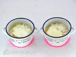 Классический французский луковый суп готов