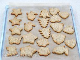 Имбирное печенье с глазурью: Выпекать в духовке