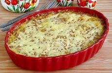 Запеченная белокочанная капуста с сыром