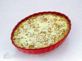Запеченная белокочанная капуста с сыром готова