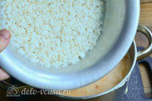 Рисовая каша с тыквой на молоке: Варить рис
