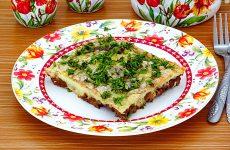 Куриная печень с яйцом по-румынски