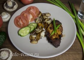 Мясо в горчичном маринаде