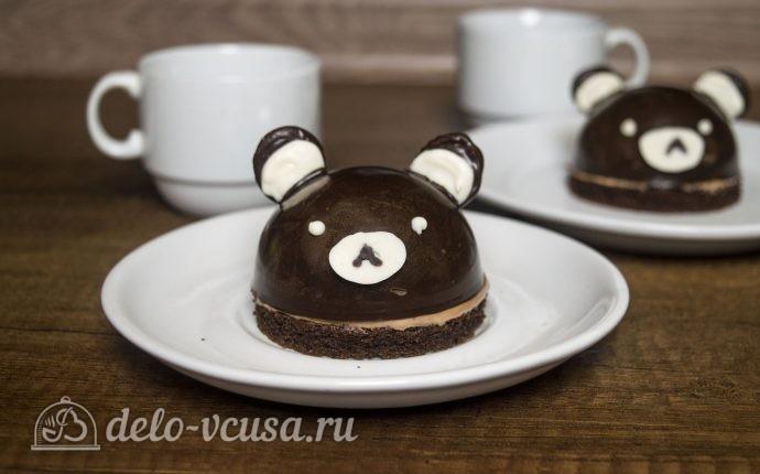 Муссовое пирожное Мишки