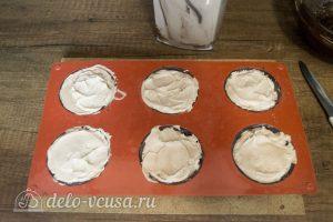 Муссовое пирожное Мишки: Заполнить формы муссом