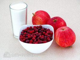 Яблочное пюре с клюквой: Ингредиенты