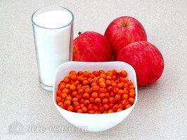 Пюре из яблок и облепихи на зиму: Ингредиенты