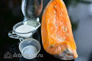 Сок из тыквы на зиму без соковыжималки: Ингредиенты