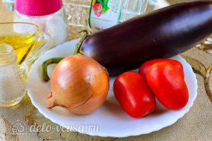 Соте из баклажанов на зиму: Ингредиенты