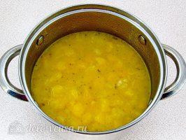 Тыквенный суп-пюре со сливками: Отварить тыкву