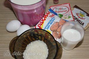 Сютлач, турецкий рисовый пудинг: Ингредиенты