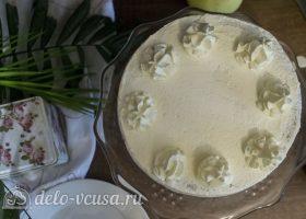 Белый шоколадно-кокосовый торт