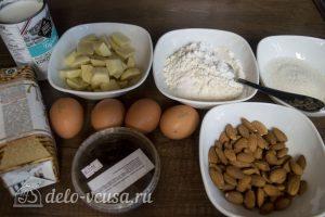 Белый шоколадно-кокосовый торт: Ингредиенты