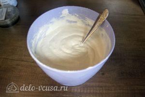 Белый шоколадно-кокосовый торт: Перемешать тесто