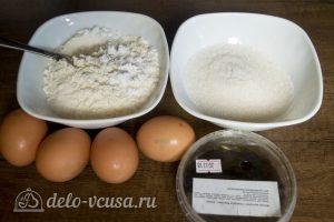 Классический ванильный бисквит: Ингредиенты