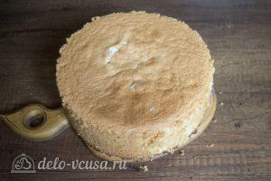 Классический ванильный бисквит: Охладить бисквит
