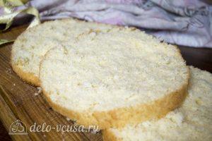 Классический ванильный бисквит готов