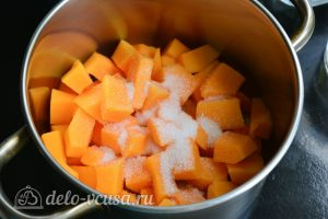 Компот из тыквы на зиму: Добавьте сахар