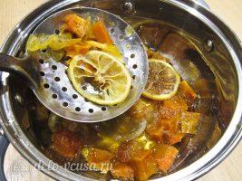Цукаты из тыквы: Выловить цукаты