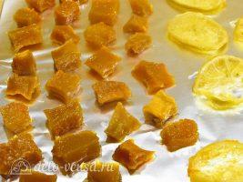 Цукаты из тыквы: Просушить цукаты
