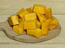 Цукаты из тыквы: Порезать кубиками