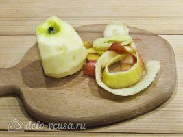 Цукаты из тыквы: Очистить яблоко