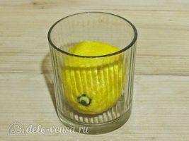 Цукаты из тыквы: Подготовить лимон