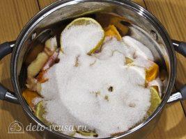 Цукаты из тыквы: Добавляем сахар