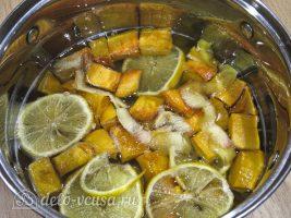 Цукаты из тыквы: Добавить воду