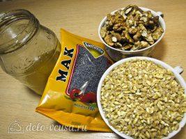 Рождественская кутья из пшеницы: Ингредиенты