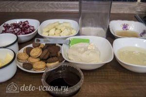 Мини-чизкейки без выпечки: Ингредиенты