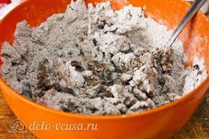 Многозерновой хлеб в духовке: Перемешать